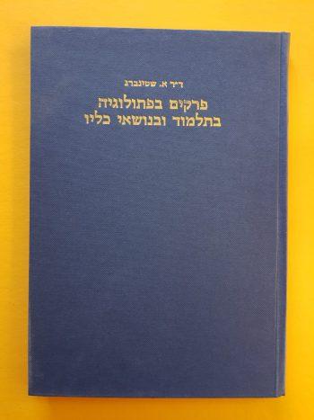 ספר פרקים בפתולוגיה בתלמוד ובנושא כליו